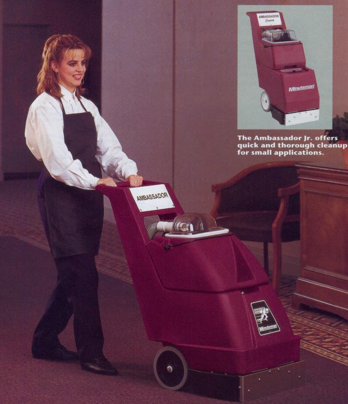 Minuteman Ambassador Carpet Extractor
